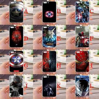For iPhone 7 Plus/8 Plus Avengers Silicone Phone Case