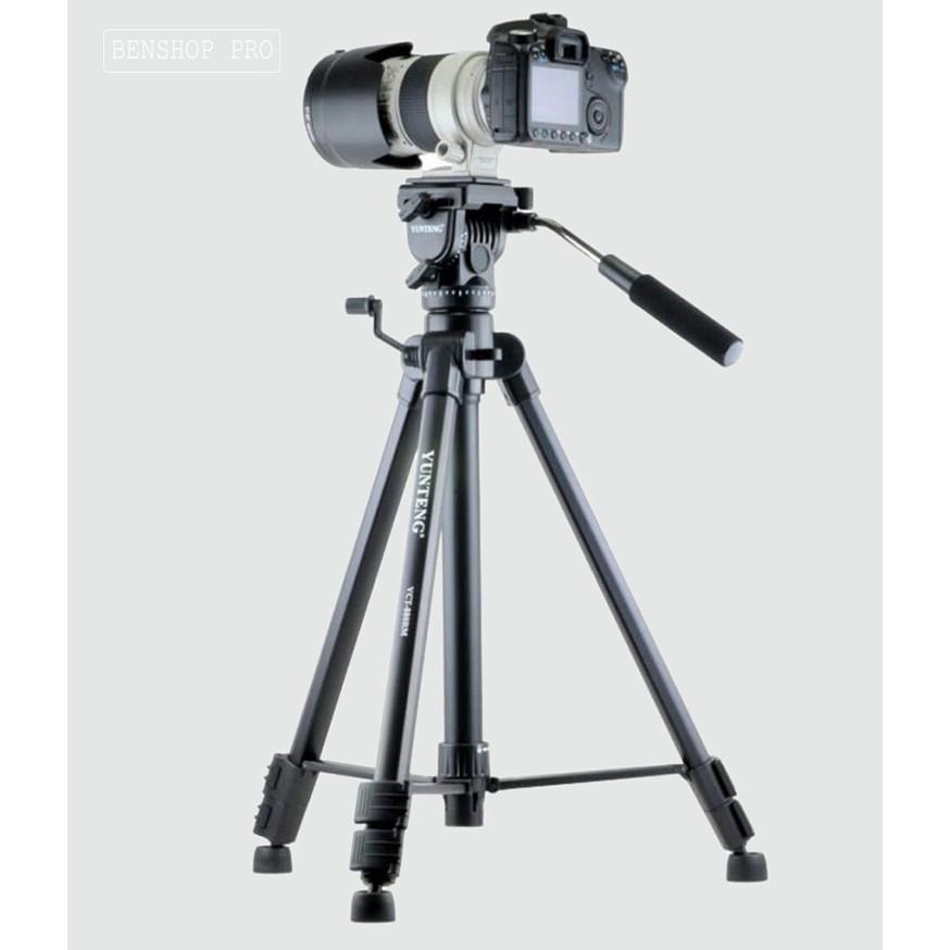 Chân đế tripod cho máy ảnh máy quay phim Yunteng VCT-860AV