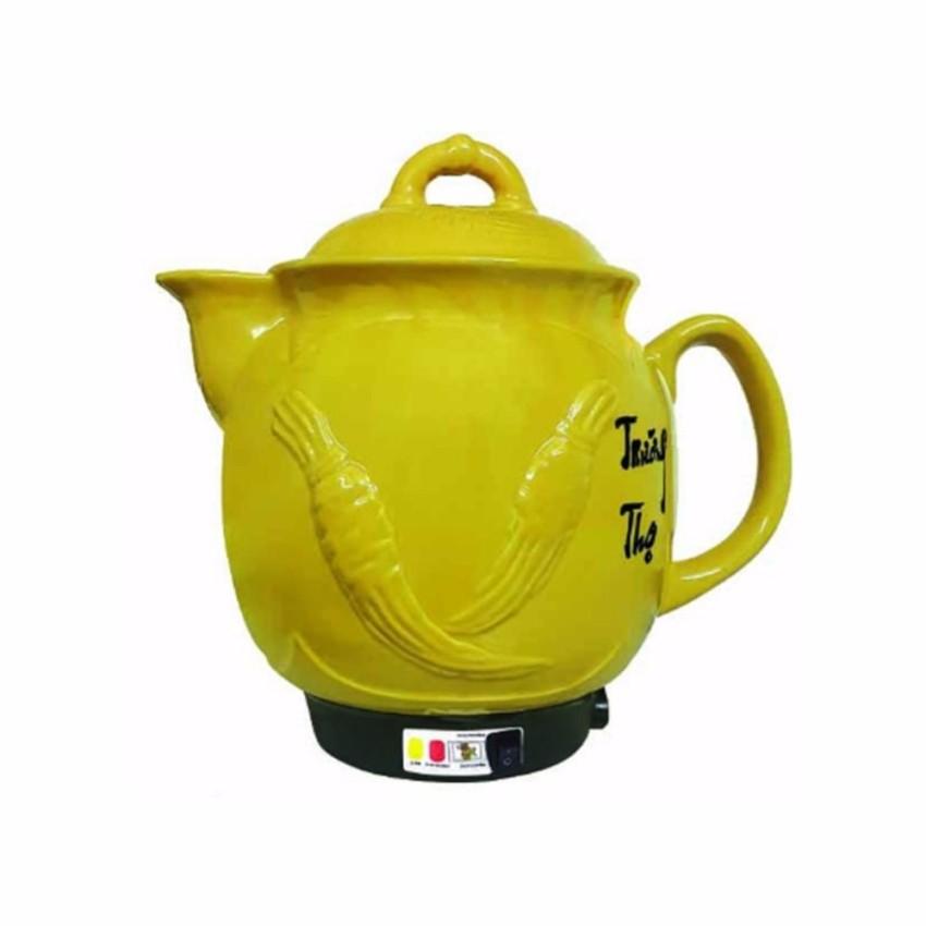 Ấm sắc thuốc Trường Thọ BA-1188 (5 Lít) màu vàng. - 2961138 , 731129704 , 322_731129704 , 490000 , Am-sac-thuoc-Truong-Tho-BA-1188-5-Lit-mau-vang.-322_731129704 , shopee.vn , Ấm sắc thuốc Trường Thọ BA-1188 (5 Lít) màu vàng.