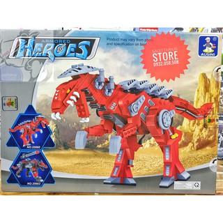LEGO Lắp Ráp Khủng Long T-REX Ausini No.25860 ( 492 Miếng )