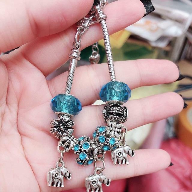 Vòng charm bạc Thái