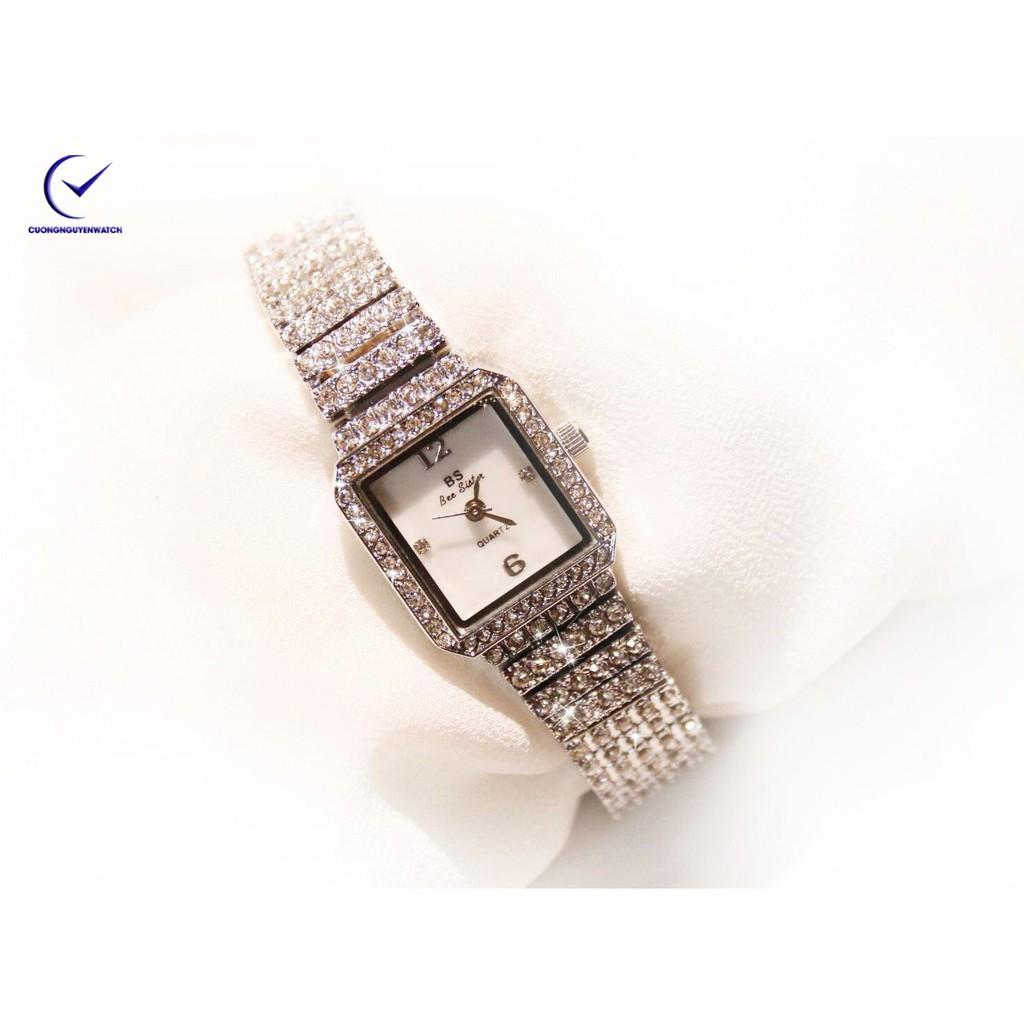 Đồng hồ nữ Bee Sister đính đá toàn dây cực sang trọng- BS32T - (Trằng)