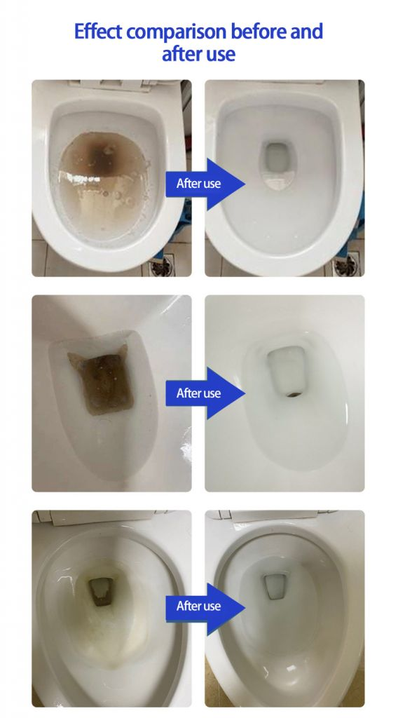 Toilet bowl cleaning effervescent tablets toilet descaling and deodorizing clean block toilet toilet cleaner