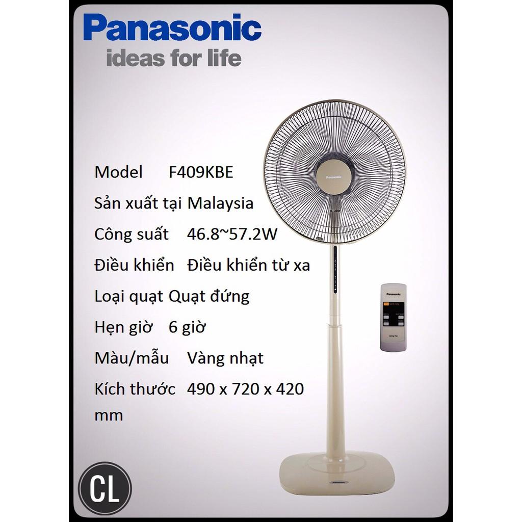 Quạt Đứng Panasonic F-409kBE (vàng nhạt) Chính Hãng Panasonic