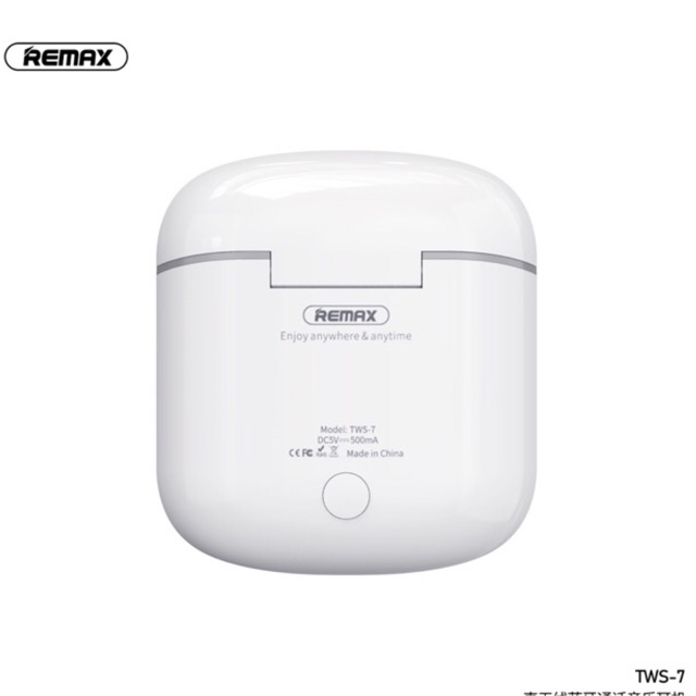 Tai nghe remax tws-7 bluetooth v5.0 tương đương tai nghe airpodss cho âm thanh true