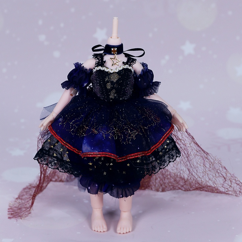 Debisheng Little Angel Doll Clothes6Divided into Fat Boy Ancient Costume Style Lolita Suit Doll Clothesbjd6The Doll's Clothes