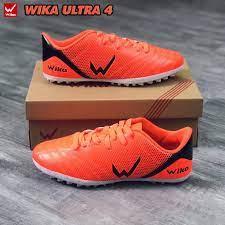 (Xả Kho 3 Ngày)Giày đá bóng, giày bóng đá Chính hãng WIKA ULTRA 4 đế TF_siêu bền đã khâu full đế( tặng tất khử mùi)