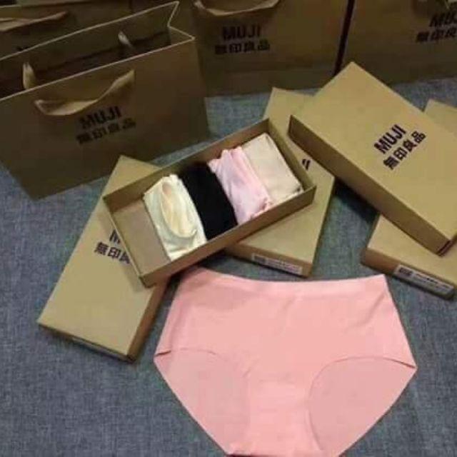 Combo 5 hộp quần lót nữ Muji - 3254929 , 824999362 , 322_824999362 , 700000 , Combo-5-hop-quan-lot-nu-Muji-322_824999362 , shopee.vn , Combo 5 hộp quần lót nữ Muji