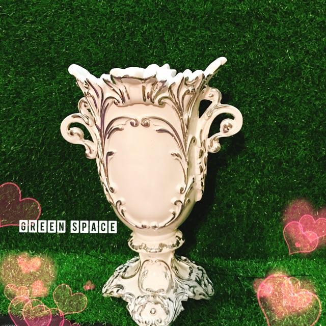 Bình cắm hoa giả cổ ( chất liệu composite)