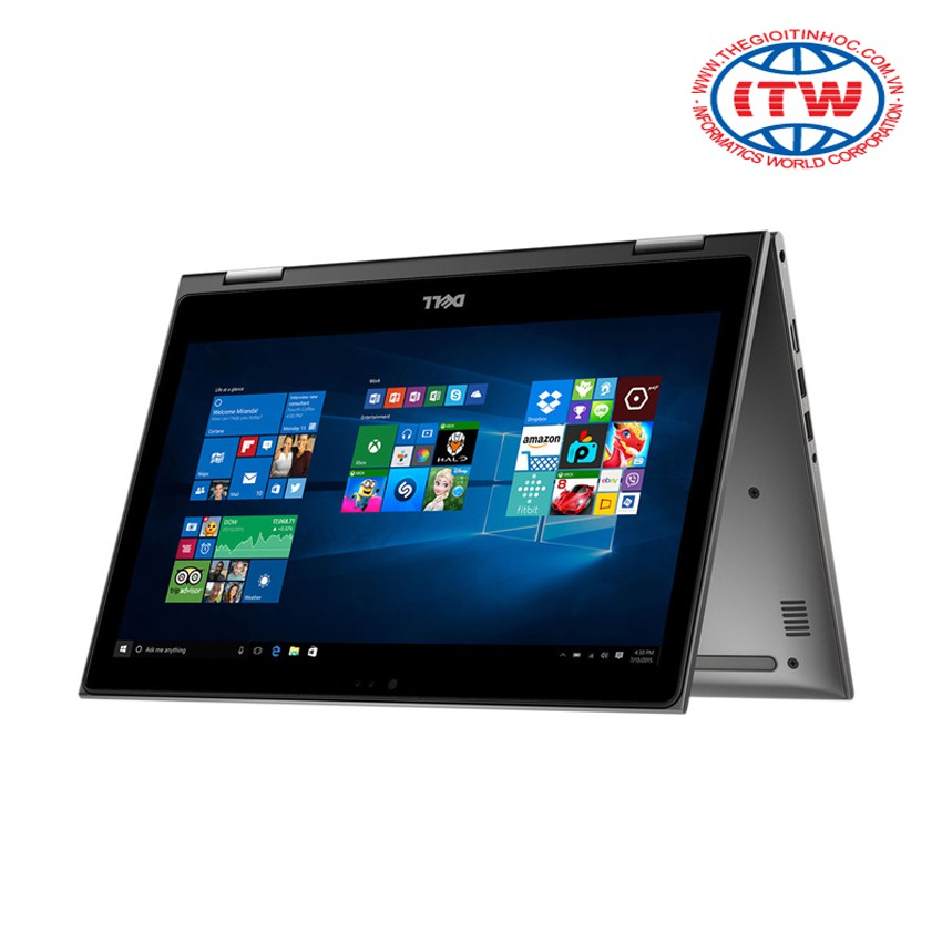 Laptop Dell Inspiron T5378 I7-7500U - C3TI7007W (Xám) – Tặng kèm túi NB Dell