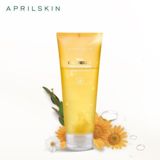 Sữa rửa mặt April skin Real Calendula Foam Cleanser 200ml thumbnail