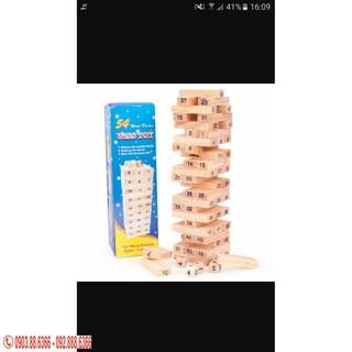 Combo 10 bộ đồ chơi rút gỗ 54 chi tiết cho bé