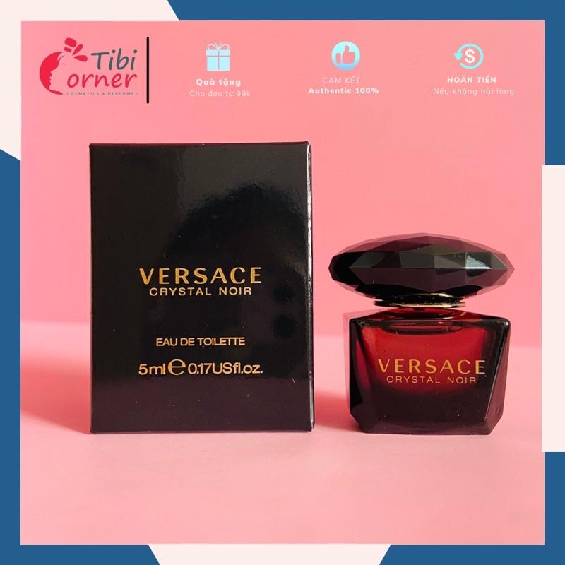 [Bill US]Nước Hoa Mini Nữ Chính Hãng Versace Crystal Noir 5ml EDT- SANG TRỌNG QUYẾN RỦ