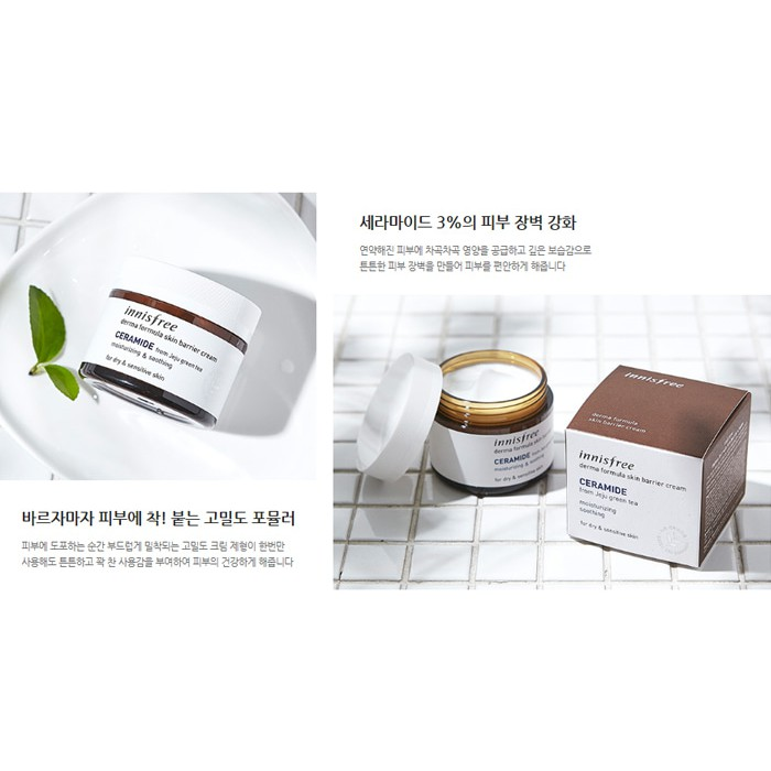 Kem Dưỡng Ẩm Innisfree Derma Formula Skin Barrier Cream – Ceramide (50ml) - 2503413 , 1067586069 , 322_1067586069 , 500000 , Kem-Duong-Am-Innisfree-Derma-Formula-Skin-Barrier-Cream-Ceramide-50ml-322_1067586069 , shopee.vn , Kem Dưỡng Ẩm Innisfree Derma Formula Skin Barrier Cream – Ceramide (50ml)