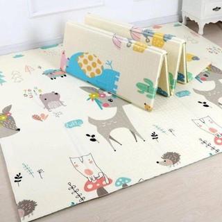Thảm trải sàn xốp XPE 2 mặt phủ Silicone Hàn Quốc mẫu đẹp chống thấm tuyệt đối, chống ngã, cho bé – Thảm xốp chống nóng