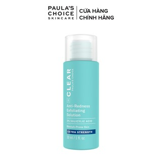 Dung dịch ngăn ngừa mụn Paula s Choice Clear Extra Strength Anti-Redness Exfoliating Solution fullsize 30ml Mã 6216