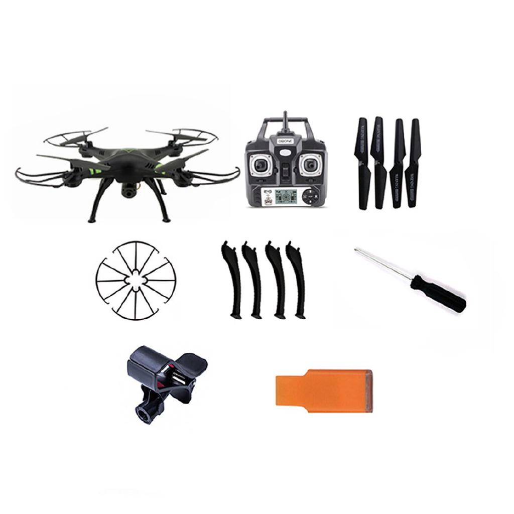 X53 Drone with 720M WIFI FPV and Phone Clip Auto-Return/Height Holding