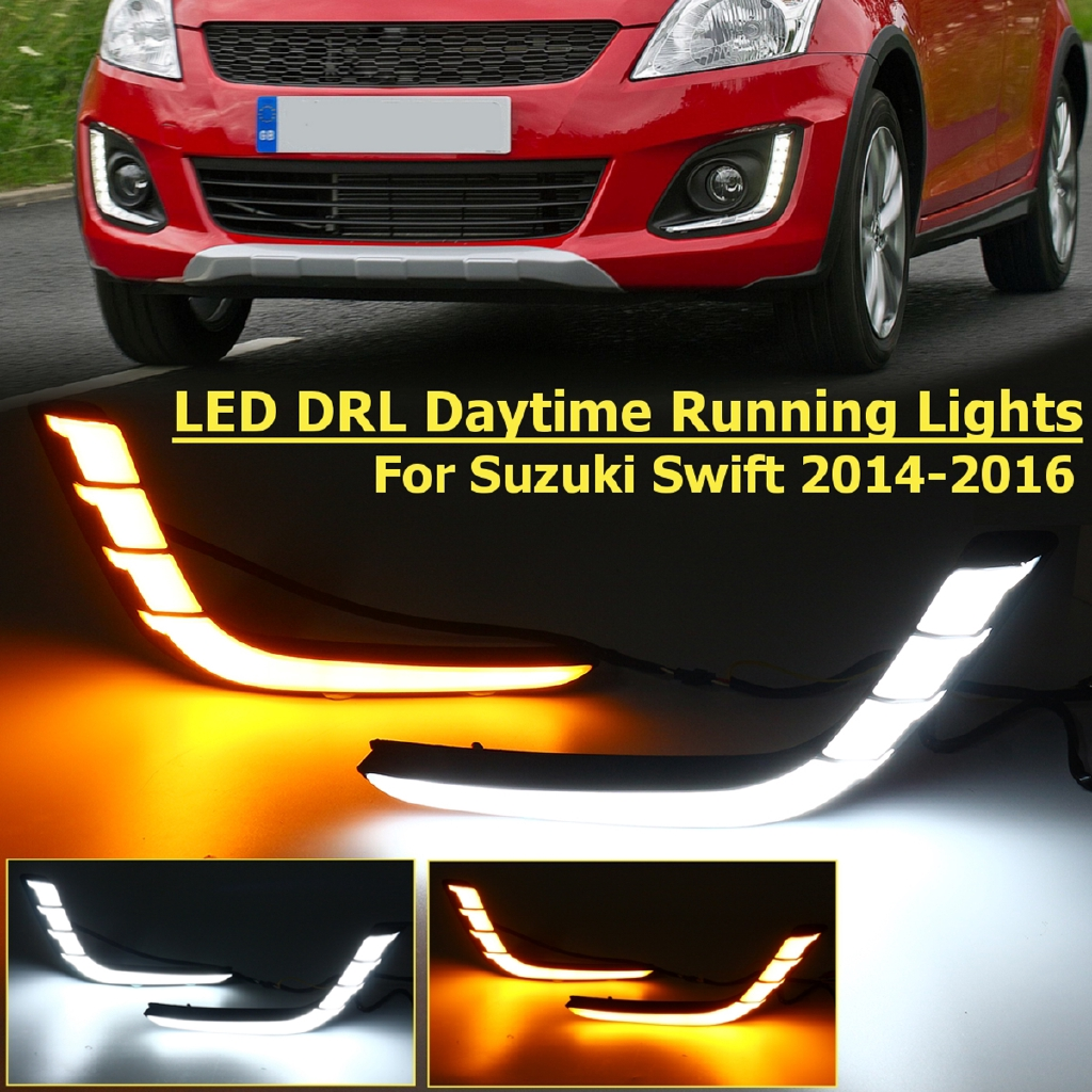Set 2 đèn LED ban ngày DRL chuyên dụng cho Suzuki Swift 2014-2016