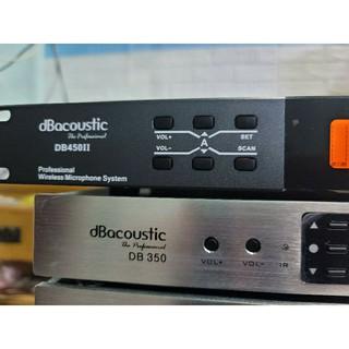 micro karaoke db acoustic 450 ii