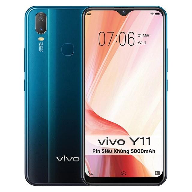 điện thoại vivo Y11 ram3/32GB bảo hành 12 tháng toàn