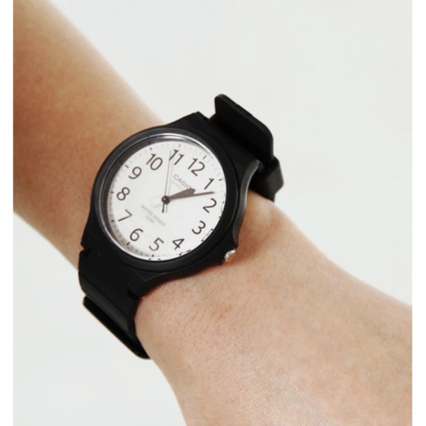 Đồng hồ nam dây nhựa Casio chính hãng Anh Khuê MW-240-7BVDF