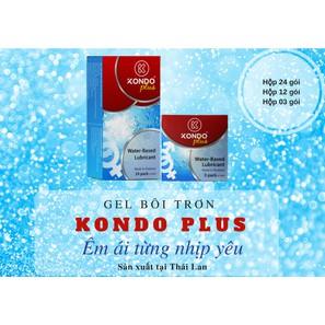 Gói Gel bôi trơn gói nhỏ 5ml tiện lợi, giá rẻ Hàng nhập khẩu Thái Lan (KONDO PLUS) - AdamZone