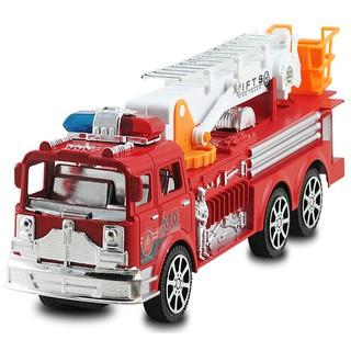 Đồ chơi xe cứu hỏa – Mô hình đồ chơi trẻ em xe cứu hỏa thang rút dài hợp kim nhựa cao cấp (hình thật) (ĐỒCHƠITRẺEM)