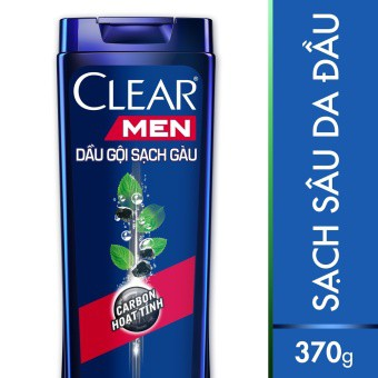 Dầu gội Clear Men Deep Clean sạch sâu 370g (MSP:67042982)