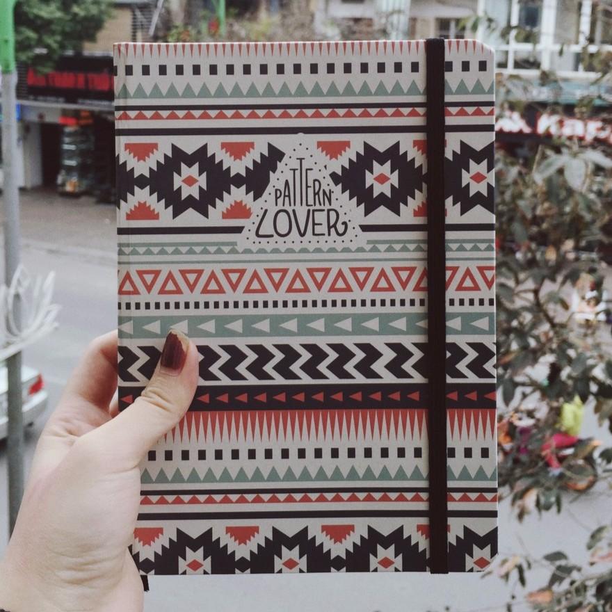 Sổ tay Pattern Lover - ruột kẻ
