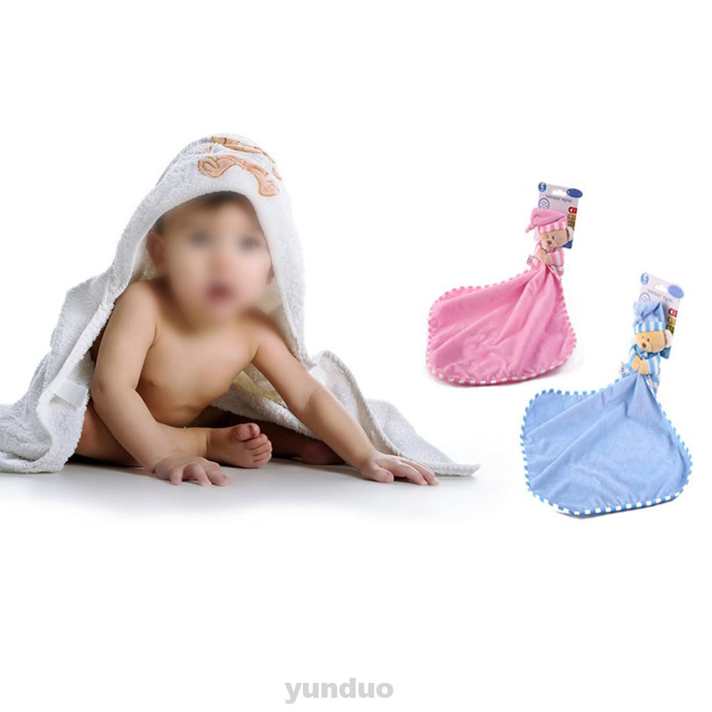 Cartoon Bear Infant Reassure Dolls Soothe Square Plush