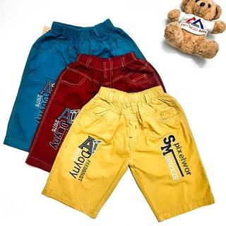Quần lửng lưng thun cho bé 30kg đến 60kg – quần lửng kaki BIG SIZE – quần lửng nhiều màu co giãn – NH Kids Shop