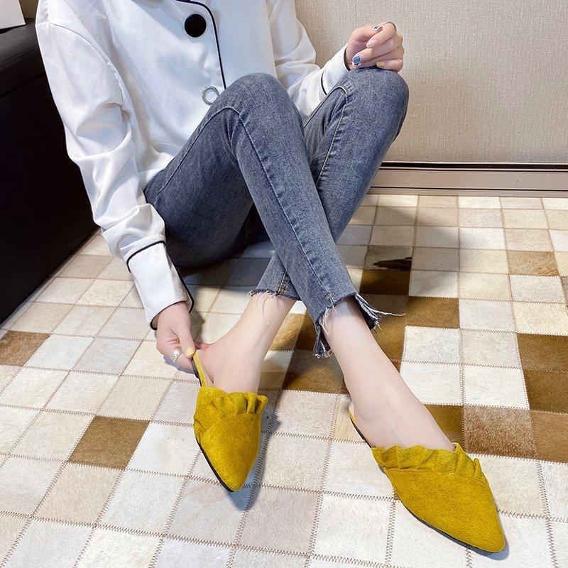 Giày Nữ Mũi Nhọn Thời Trang Hàn Quốc