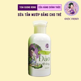 Sữa tắm cho bé, ngừa rôm sẩy Ả Đào Sữa tắm em bé mướp đắng thiên nhiên, thơm,MỘC NHAN 350ml handmade 1