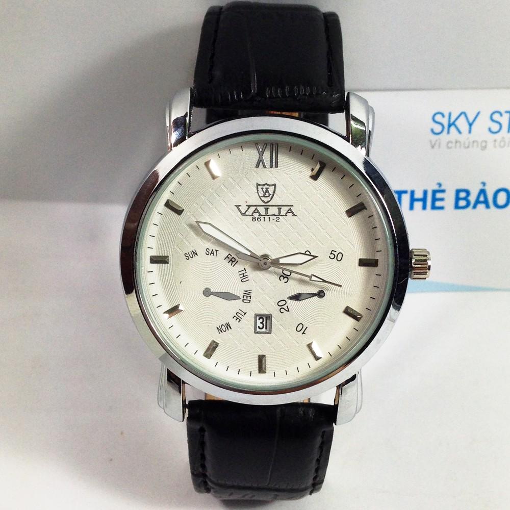 Đồng hồ nam dây da cao cấp thương hiệu VALIA 55118 - 2548716 , 113485049 , 322_113485049 , 189000 , Dong-ho-nam-day-da-cao-cap-thuong-hieu-VALIA-55118-322_113485049 , shopee.vn , Đồng hồ nam dây da cao cấp thương hiệu VALIA 55118