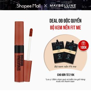 Son Kem Lì Nhẹ Môi Maybelline New York Sensational Liquid Matte Lipstick 7ml