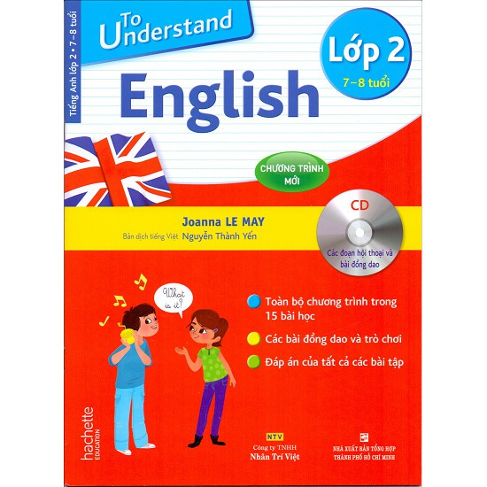 Sách - To Understand English Lớp 2 + 1 CD - 9786045859681