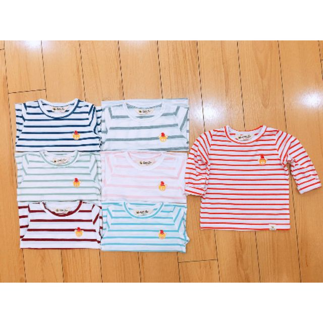 Áo cotton sước bé trai sz 1- 7 tuổi