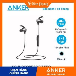 Tai Nghe Bluetooth Anker A3402 Soundcore Spirit Pro- Bh 18 tháng
