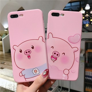 Oppo A3s A37 A83 A57 F1s F5 A57 Lovely Cartoon Pink Pig Animal Soft Case Cover
