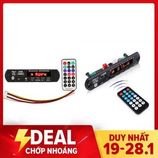 Mạch Giải Mã MP3 USB/TF/AUX/Bluetooth 5-12VDC 3 màu