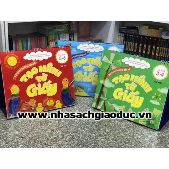 Bộ tranh hướng dẫn trẻ tạo hình từ giấy - Dành cho trẻ 3-4, 4-5, 5-6 tuổi - 3182893 , 1247419977 , 322_1247419977 , 380000 , Bo-tranh-huong-dan-tre-tao-hinh-tu-giay-Danh-cho-tre-3-4-4-5-5-6-tuoi-322_1247419977 , shopee.vn , Bộ tranh hướng dẫn trẻ tạo hình từ giấy - Dành cho trẻ 3-4, 4-5, 5-6 tuổi