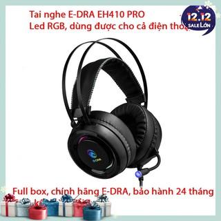 Tai nghe E-DRA 410 PRO – Đèn led RGB cực đẹp – Dùng được cho điện thoại – Bảo hành 24 tháng – Lỗi 1 đổi 1