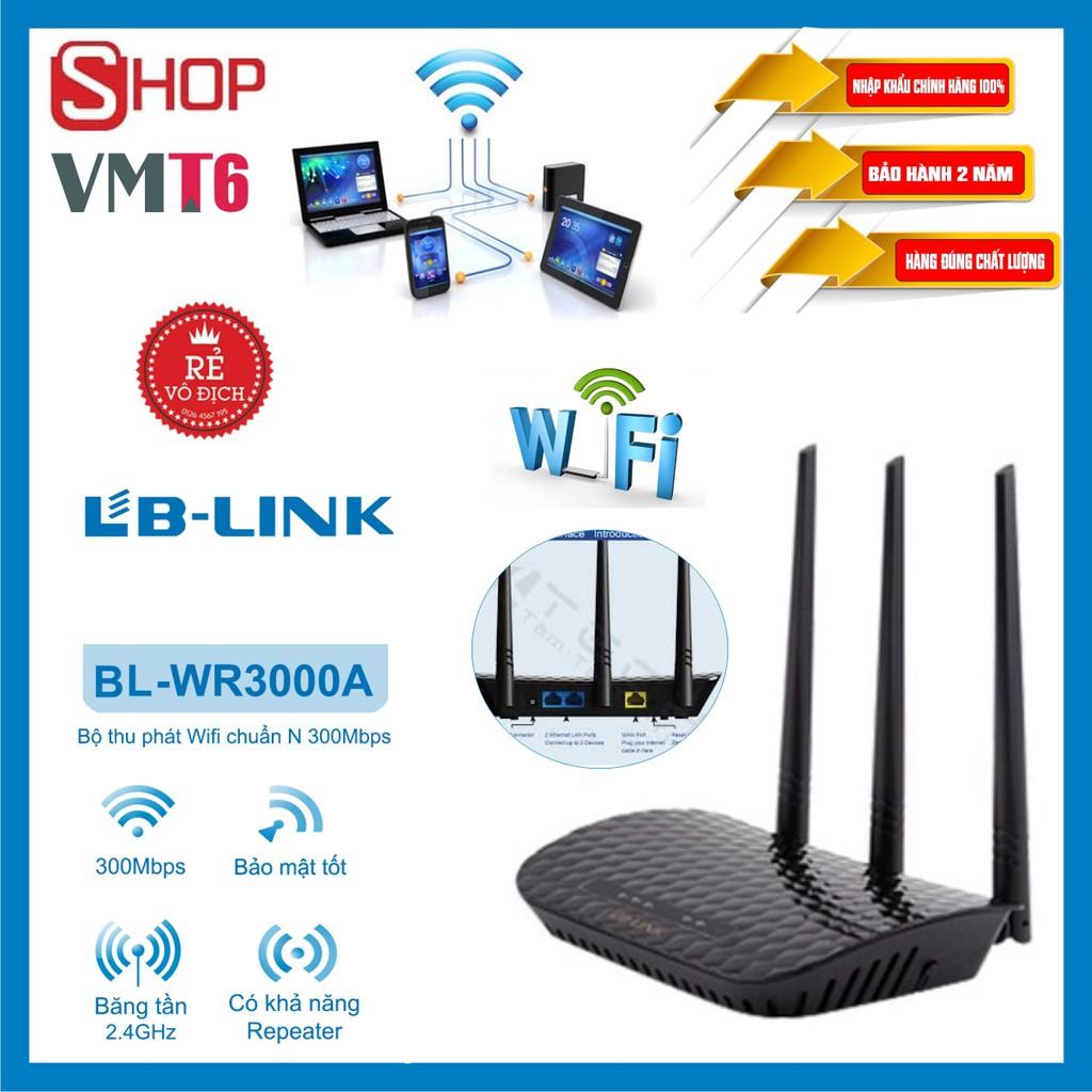 Bộ phát sóng wifi LB-LINK BL-WR3000A - Chính hãng bảo hành 12 tháng!