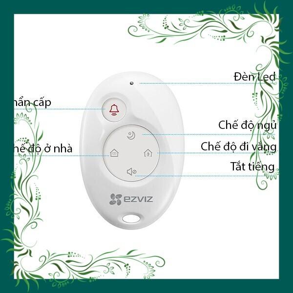 (Sale Mọi Nhà) Thiết bị Remote Điều Khiển Không Dây K2 EZVIZ CS-K2-A