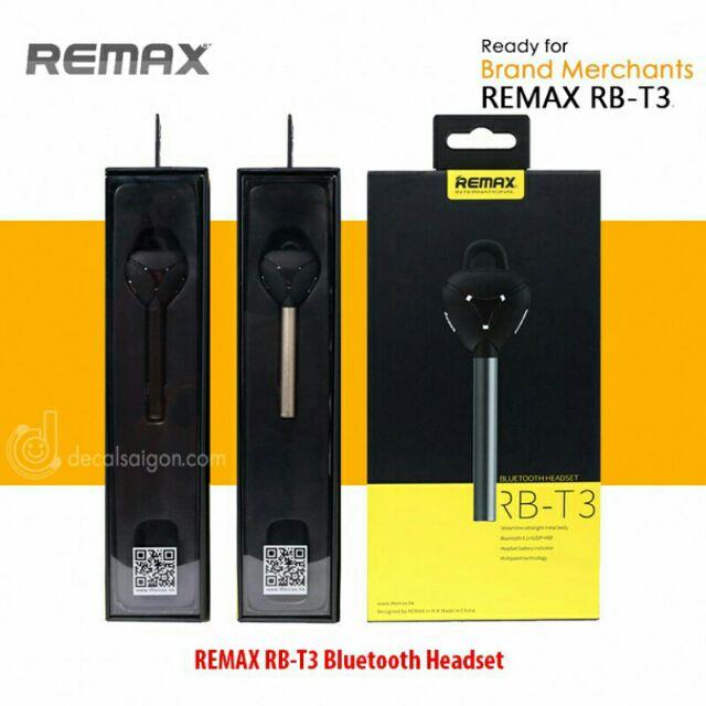Tai nghe Bluetooth Remax RB-T3 xịn - BH 6 tháng