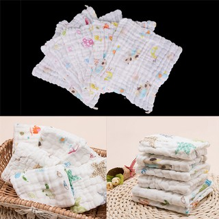 adore 1PC Newborn Baby Soft Cotton Washcloth Bath Towel Bathing Feeding Wipe Cloth craving