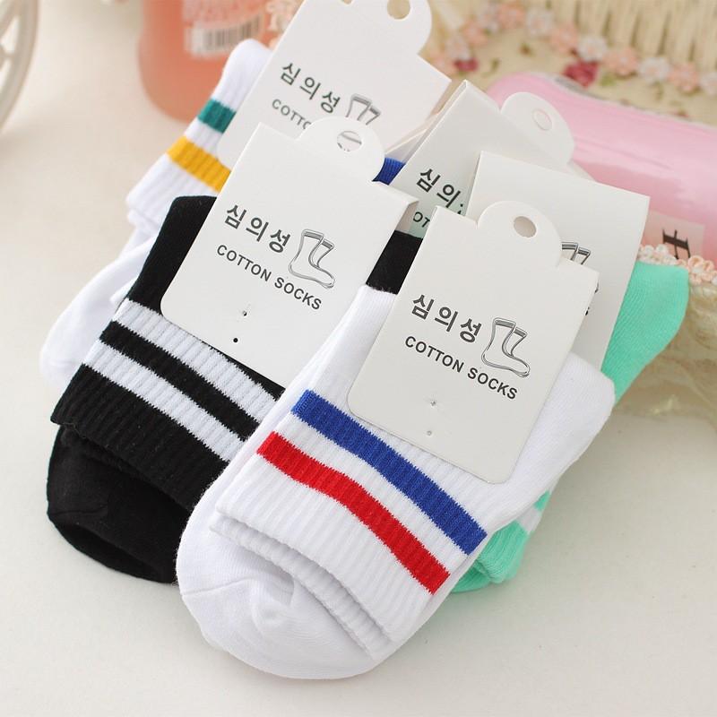 Combo 60 đôi vớ Sọc Hàn Quốc