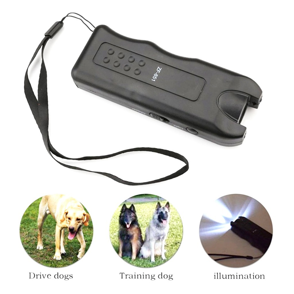 Portable Ultrasonic Dog Chaser Repellent Anti Bark Training Device