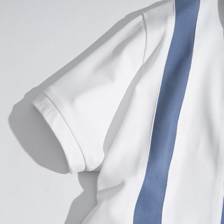 Hình ảnh Áo Thun Nam Polo Phối Kẻ Sọc Trẻ Trung Thời Trang ZERO-6