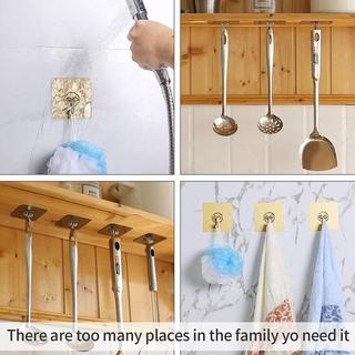 Móc Treo Đồ Dán Tường Không Để Lại Dấu Vết Tiện Dụng Cho Nhà Bếp Phòng Tắm 6
